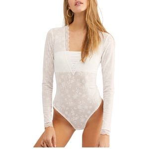 Free People Babes in Bandeaus Bodysut
